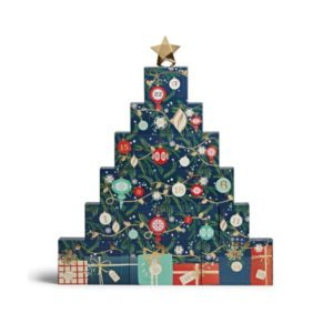 Candle Advent Calendar 2021 Yankee Candle tree votive